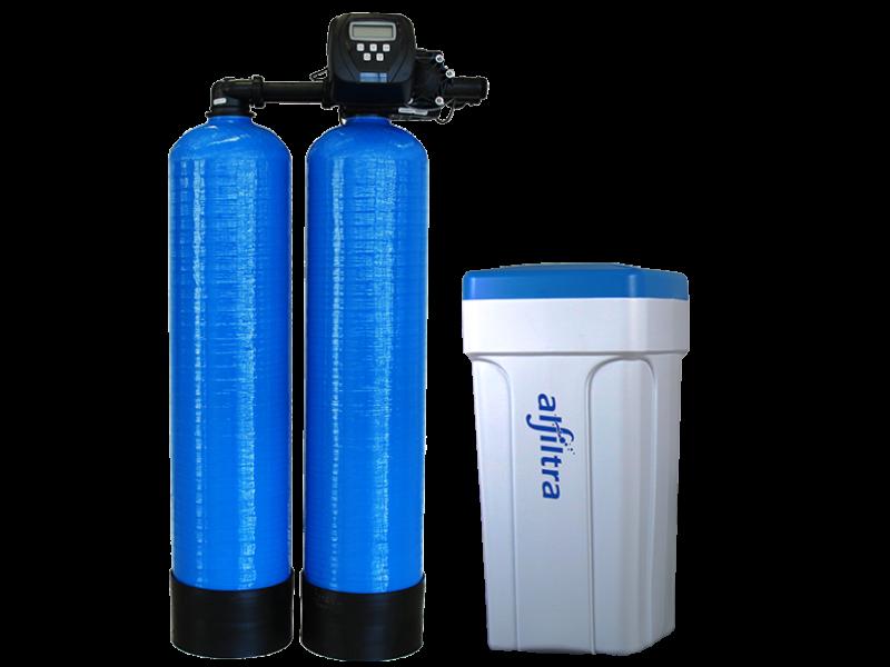 FILTRASOFT Duplex Wasserenthärtungsanlage mit neuem CLACK Steuerventil