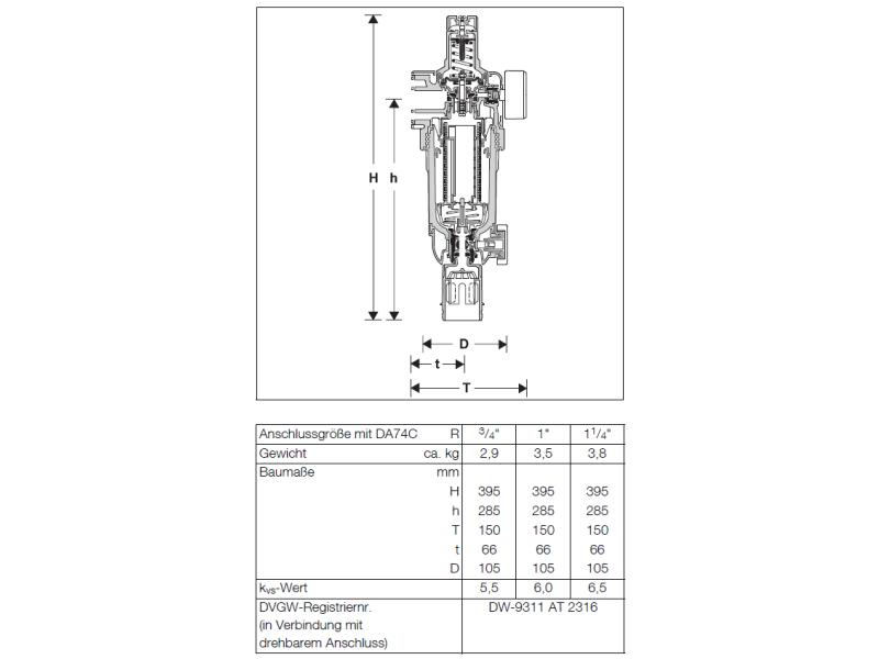 Primus-FK Filterkombination mit rückspülbarem Feinfilter