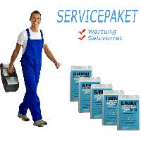 Servicepaket Basic (Wartung + 5 Säcke Salz)