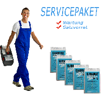 Servicepaket Duplex (Wartung + 5 Säcke Salz)