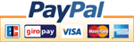 Zahlung per Paypal (Paypal Logo)