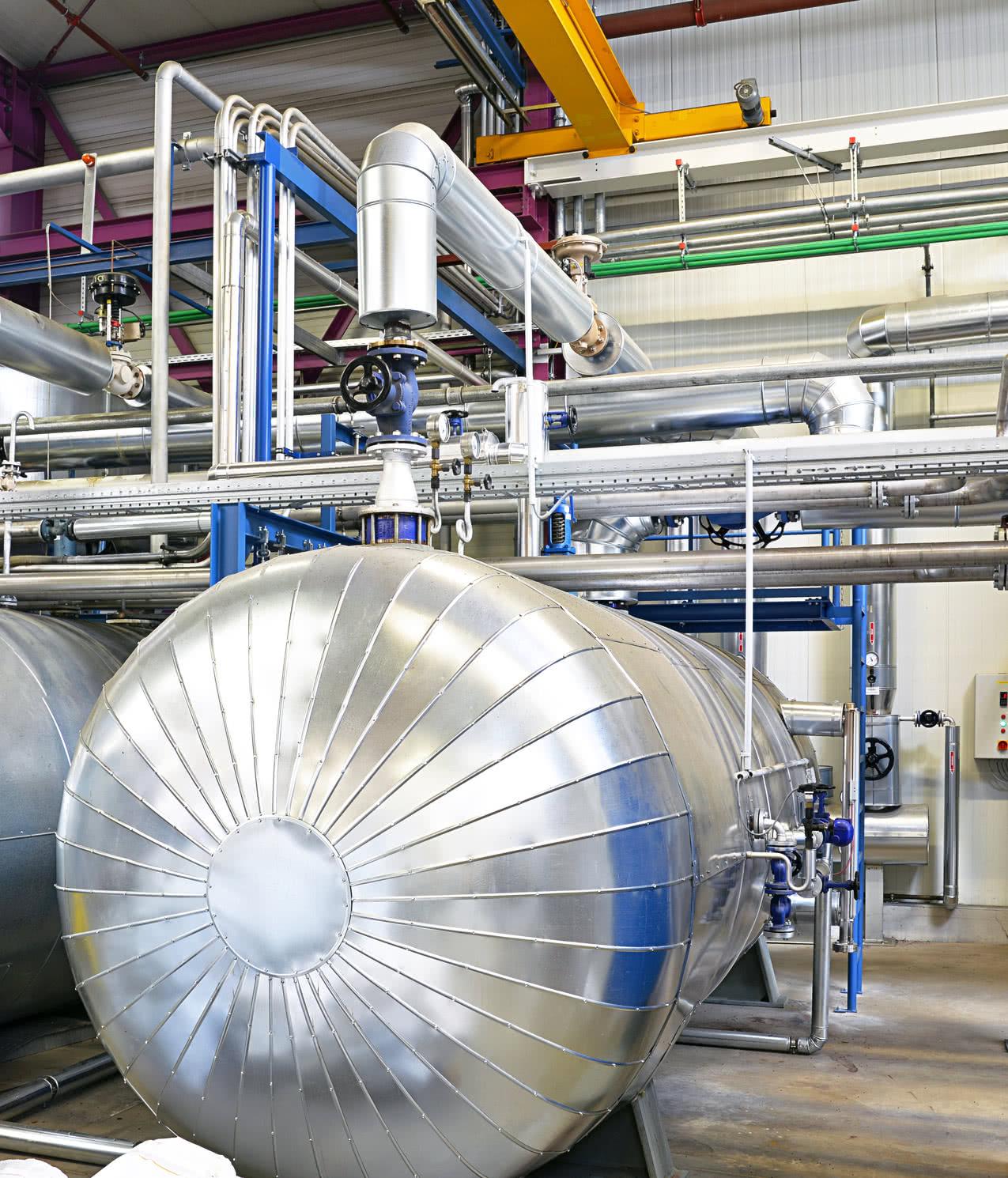 Dampfkessel - für Industrie und Gewerbe - Umkehrosmoseanlagen | ALFILTRA